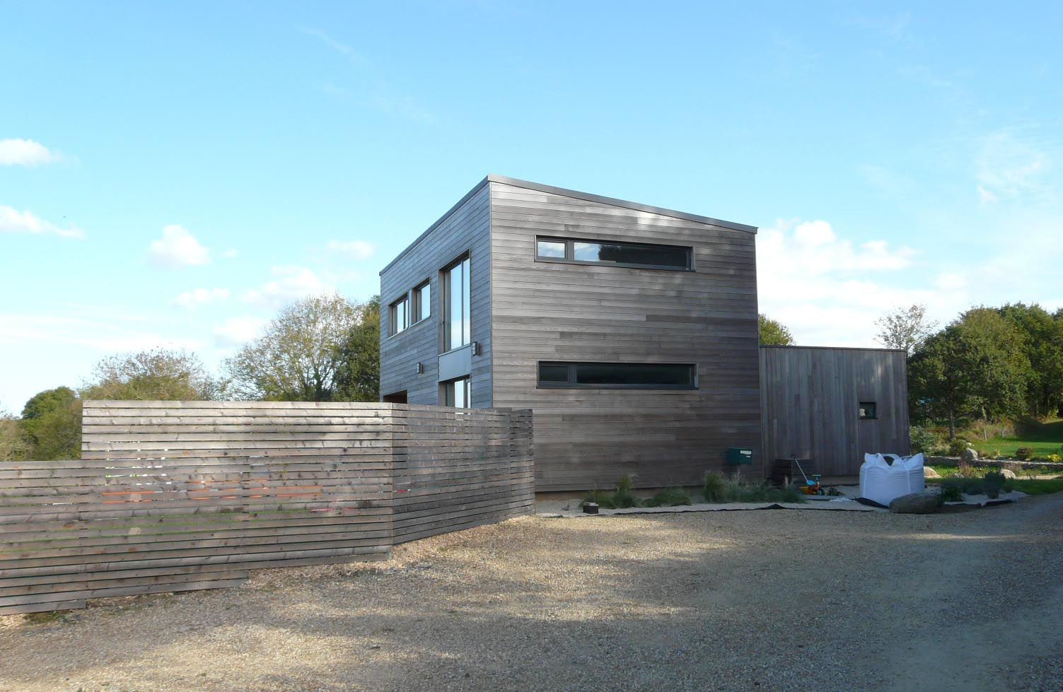 Charles geffroy architecte desa maison individuelle for Architecte grenoble maison individuelle